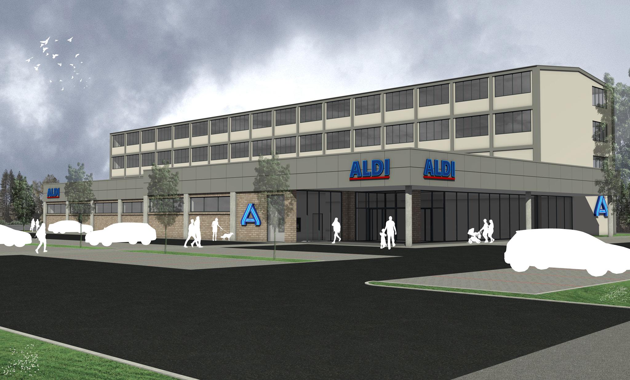 ALDI-Markt Hauptstraße 49-61, Rheda-Wiedenbrück
