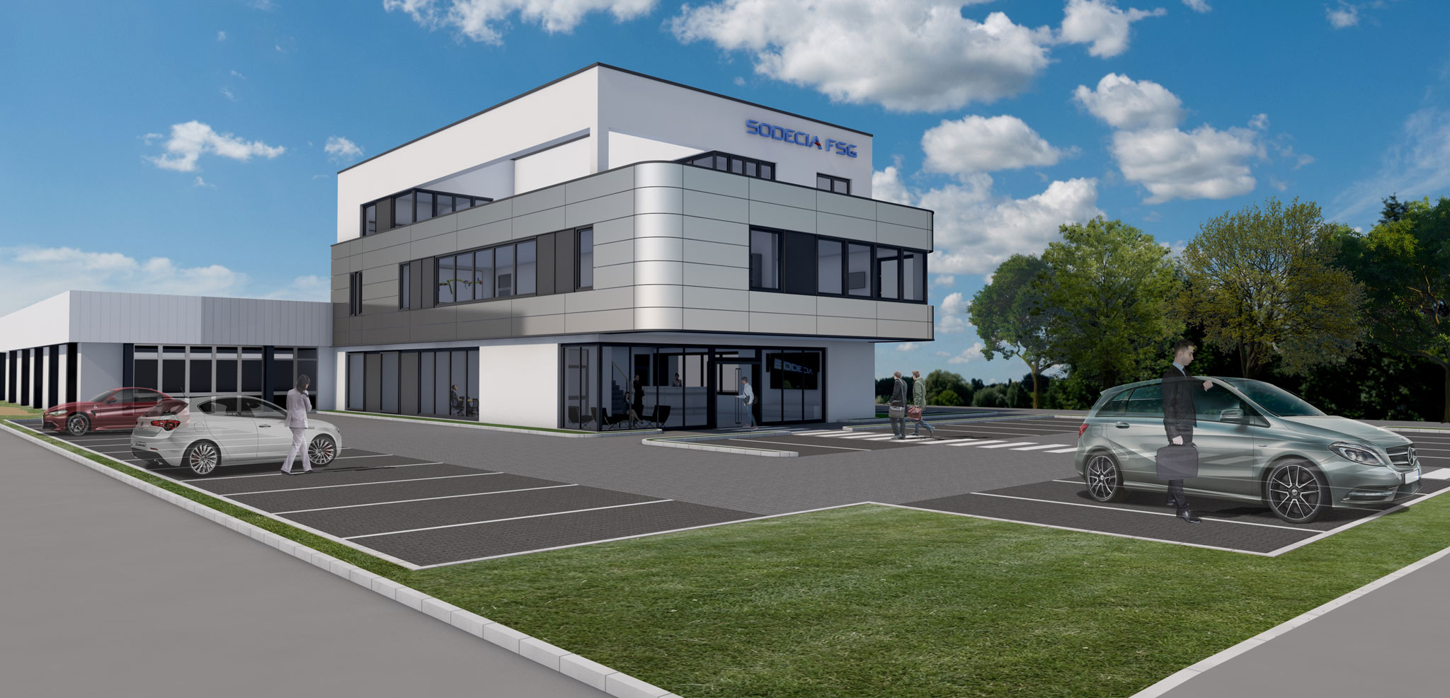Neubau Europazentrale SODECIA FSG Schulze-Delitsch-Straße 23, Burgwedel