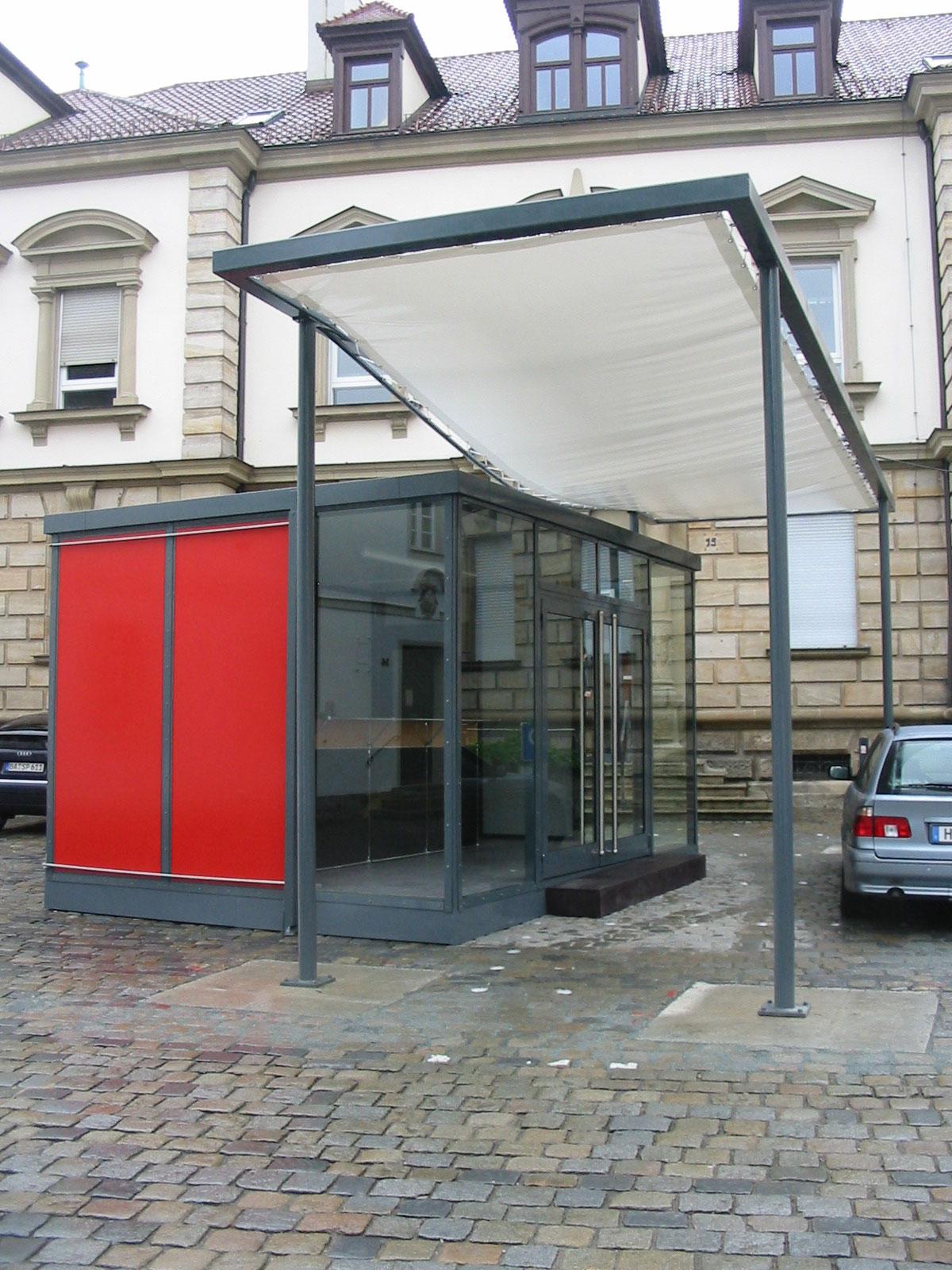 Info-Pavillon Bayerische Landesausstellung 2004, Forchheim