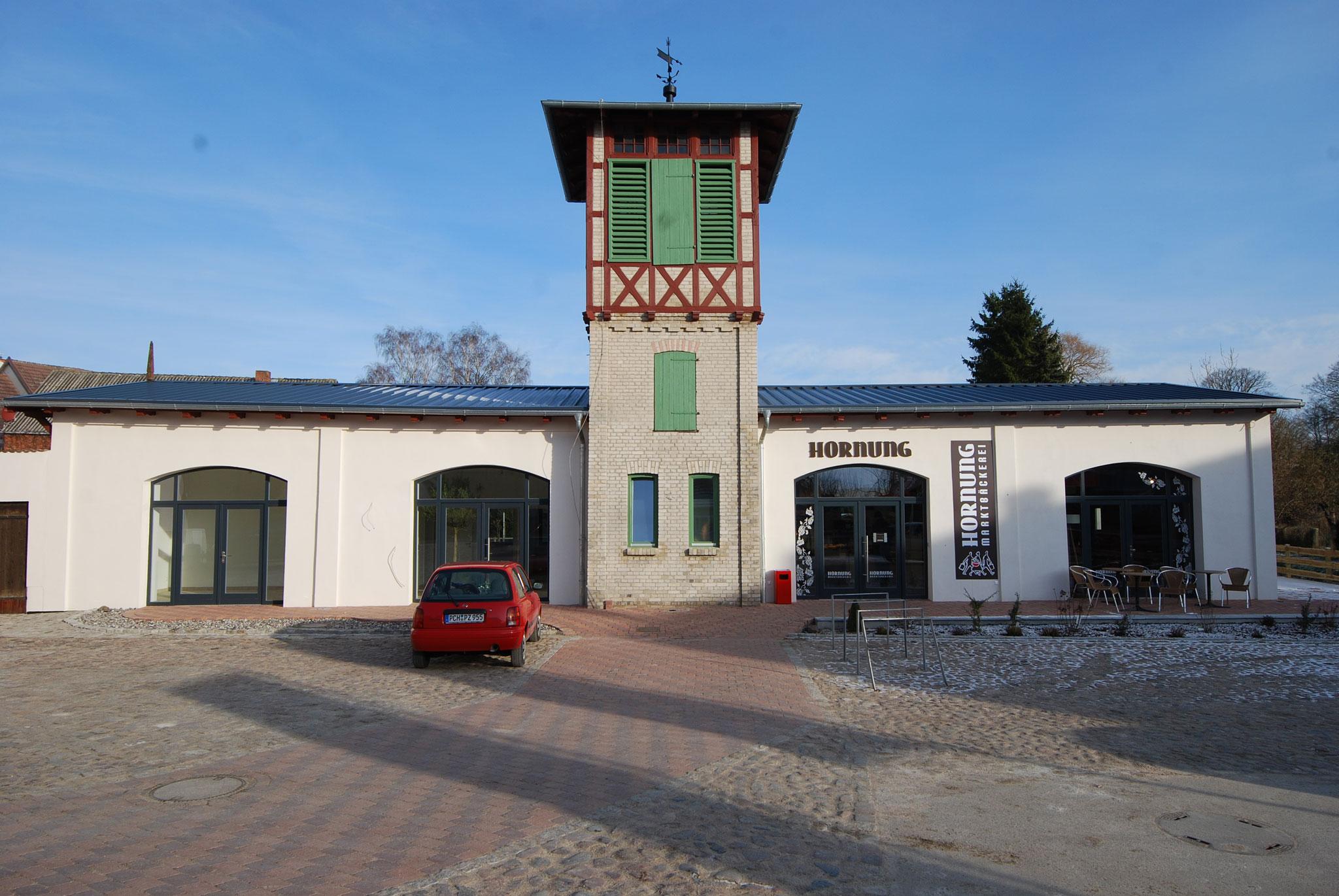 Sanierung und Umbau historische Feuerwache Lange Straße 26, Goldberg
