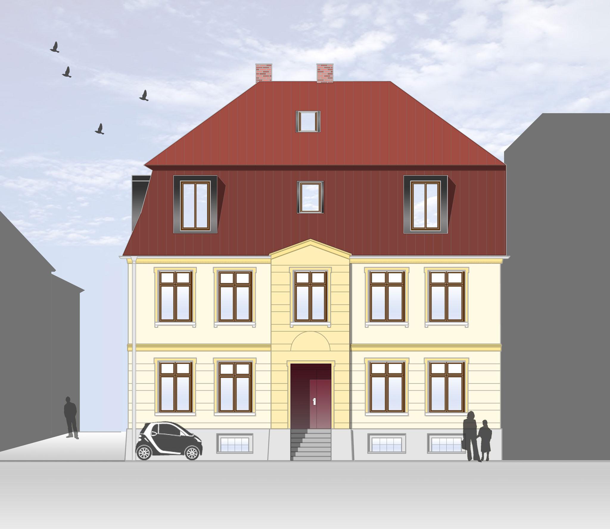 Sanierung und Umbau Kirchenstraße 18-20, Malchow