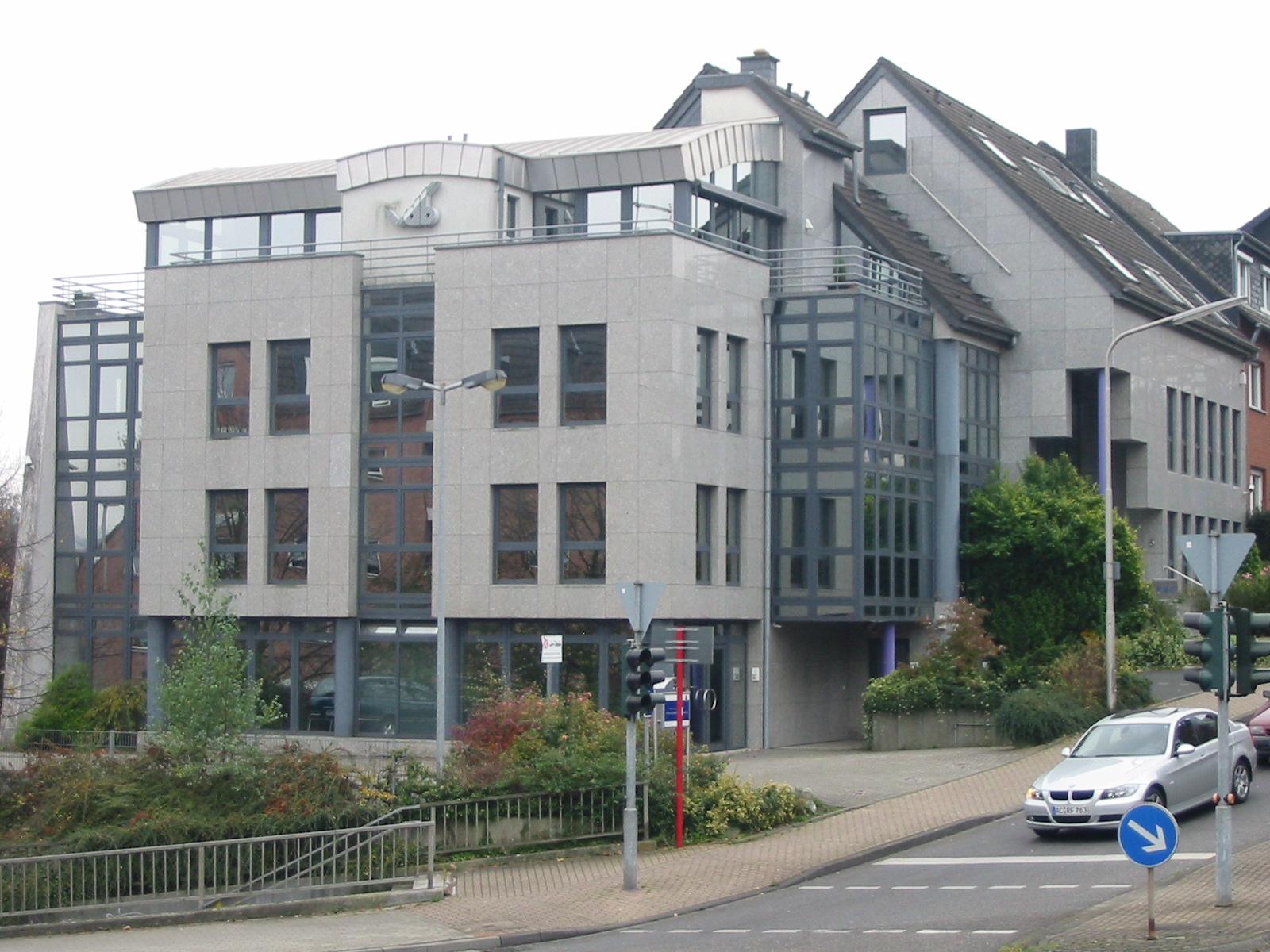 Bürogebäude (1. – 2. Bauabschnitt) Wendelinusstraße 6, Herzogenrath