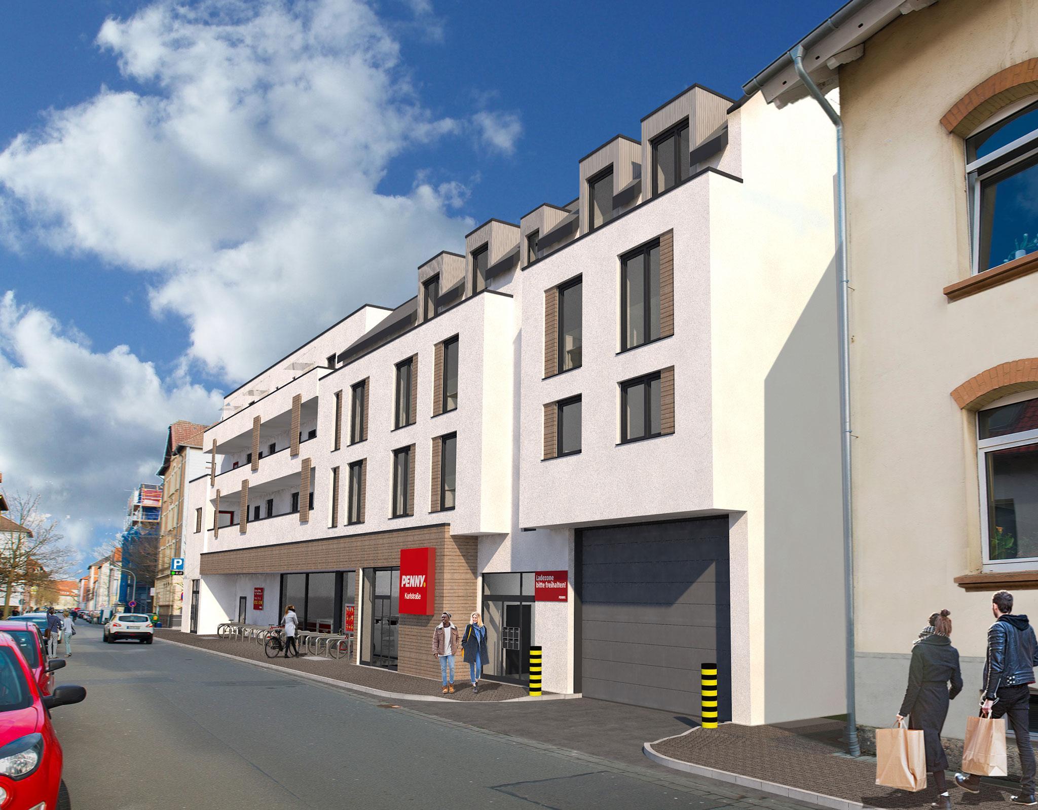 Wohn- und Geschäftshaus mit Tiefgarage Karlstr. 78-80, Braunschweig,