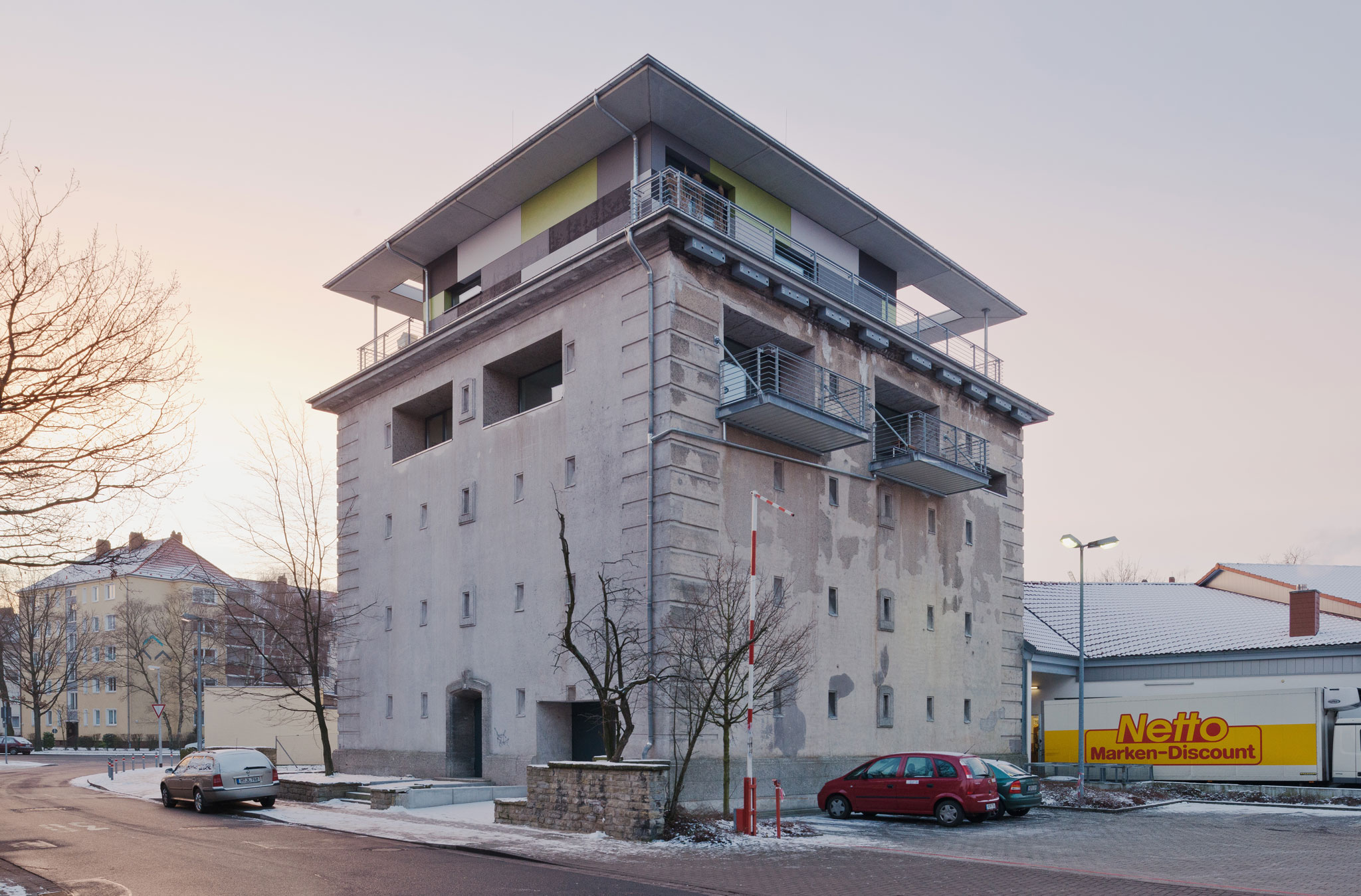 Umbau Bunker Trageweg 3, Hannover