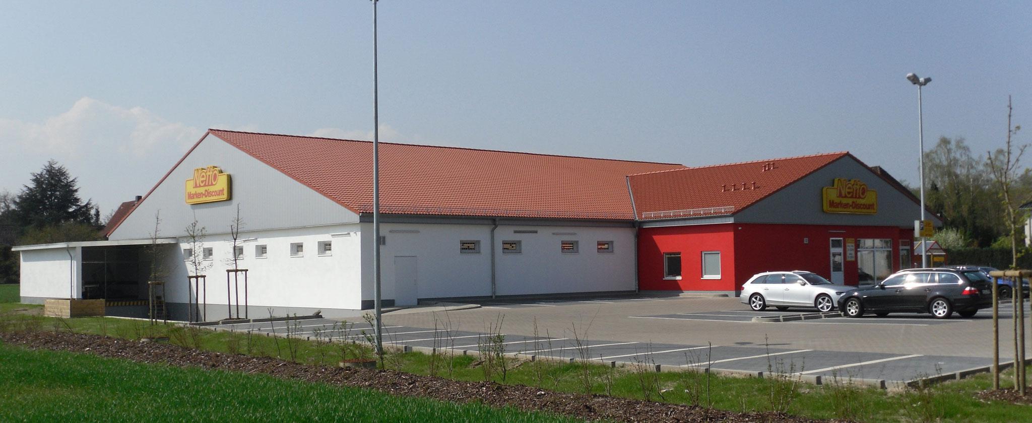 Netto-Markt mit Bäcker Osnabrücker Landstraße 33a, Seelze-Gümmer