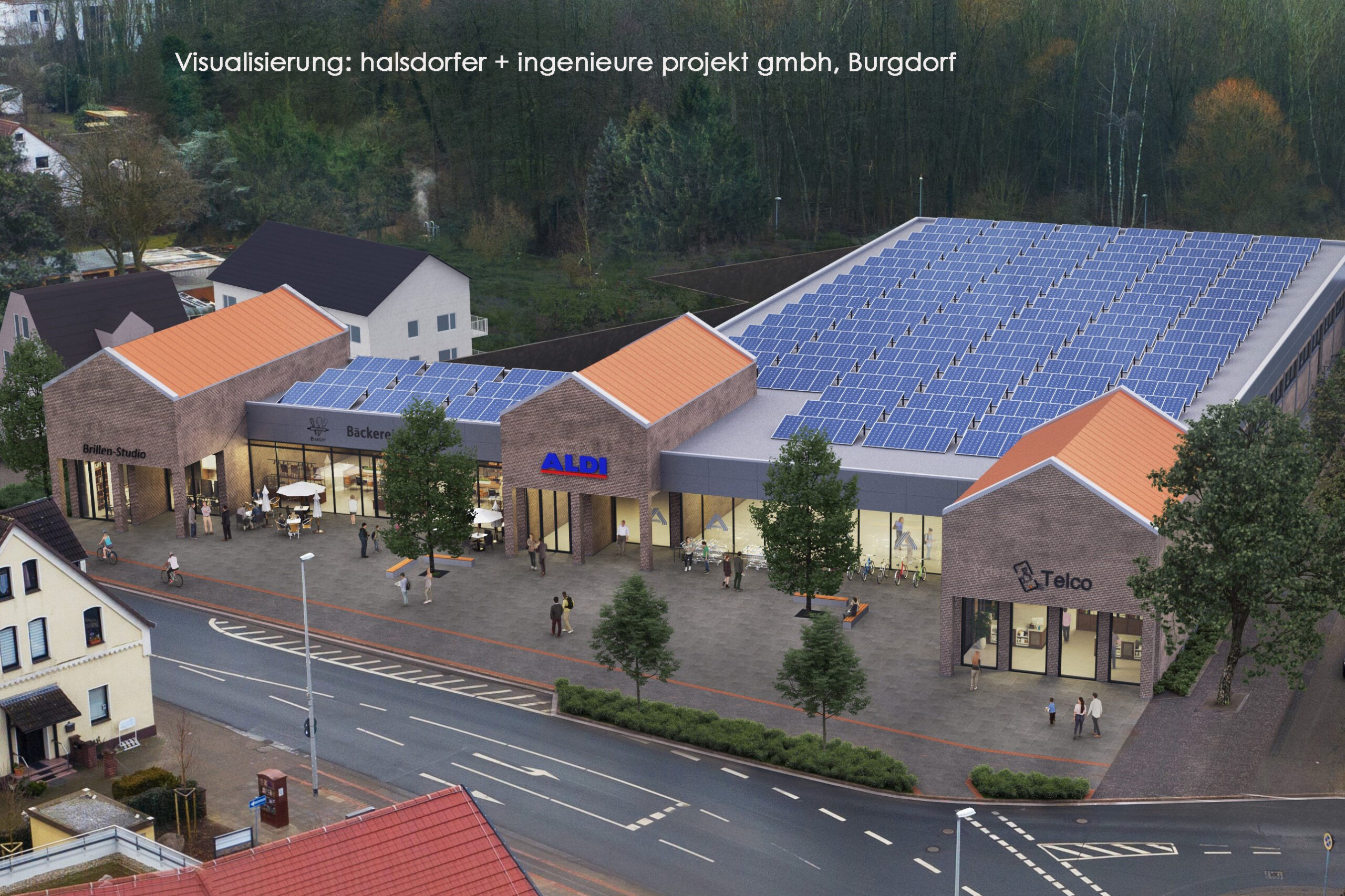 ALDI-Markt mit 3 Shops und Tiefgarage Anderter Str. 3, Hannover-Misburg