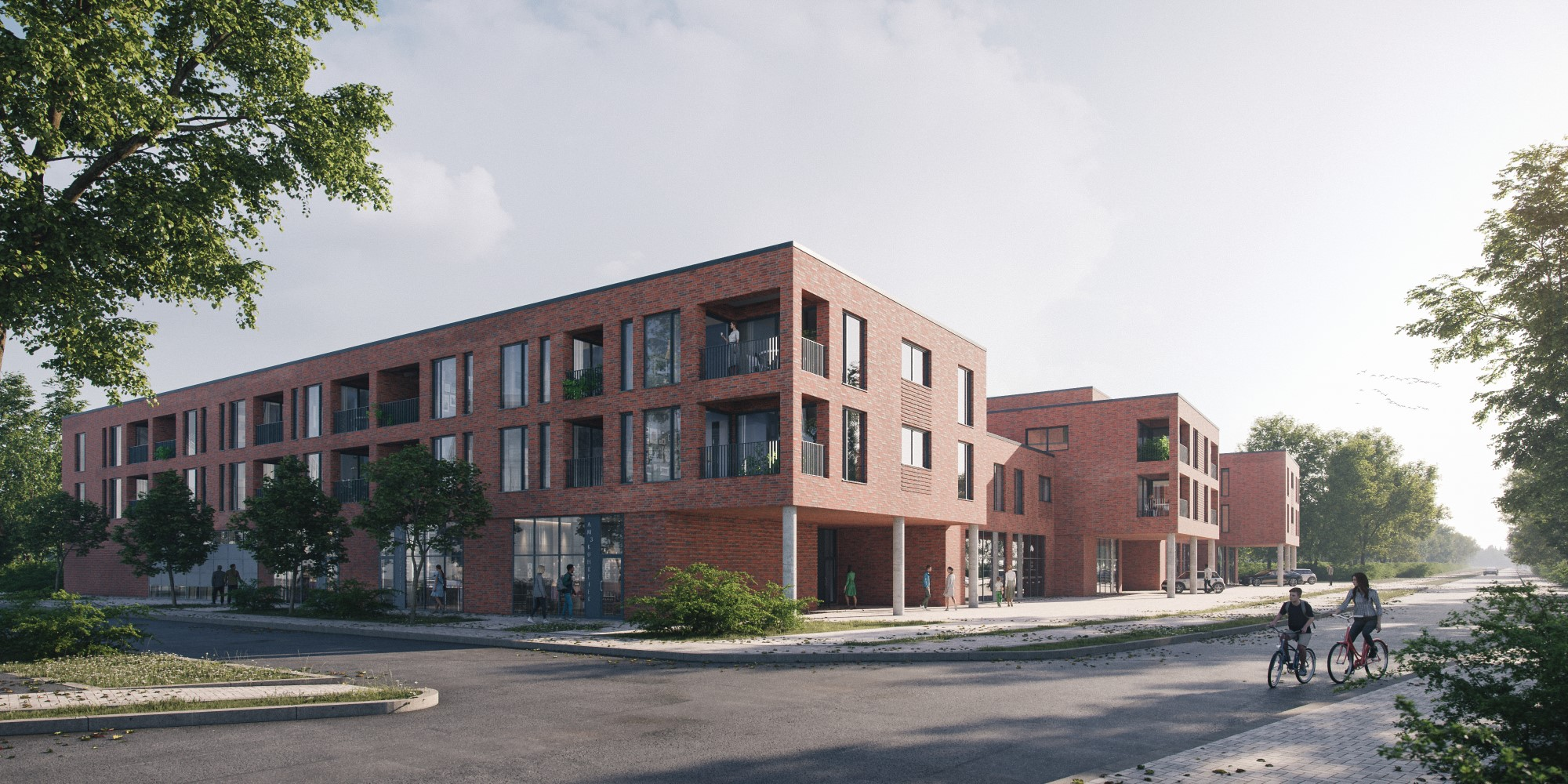 Wohn- und Geschäftshaus Im Kuhreiher 3, Bardowick